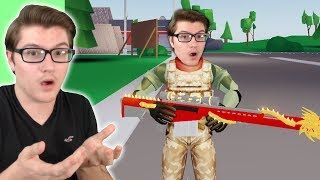 Playing Strucid With FAKE Westdrum! (Roblox)