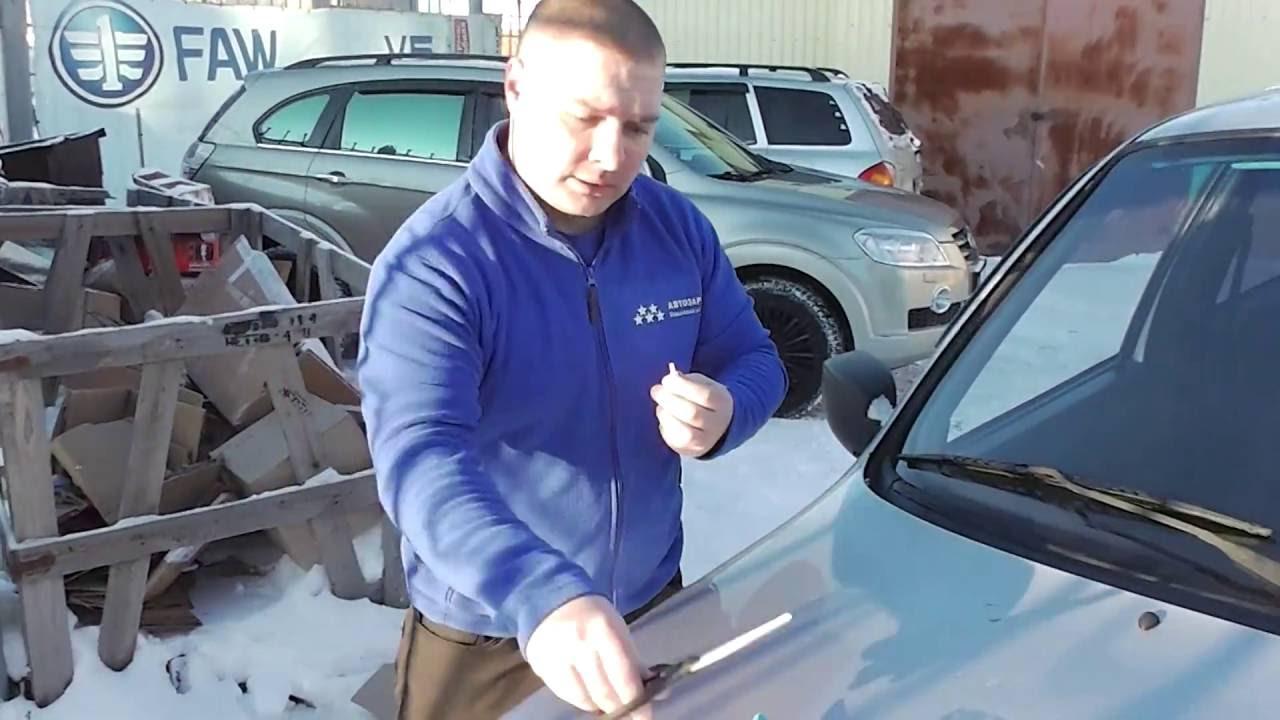 Самостоятельный ремонт скола на лобовом стекле