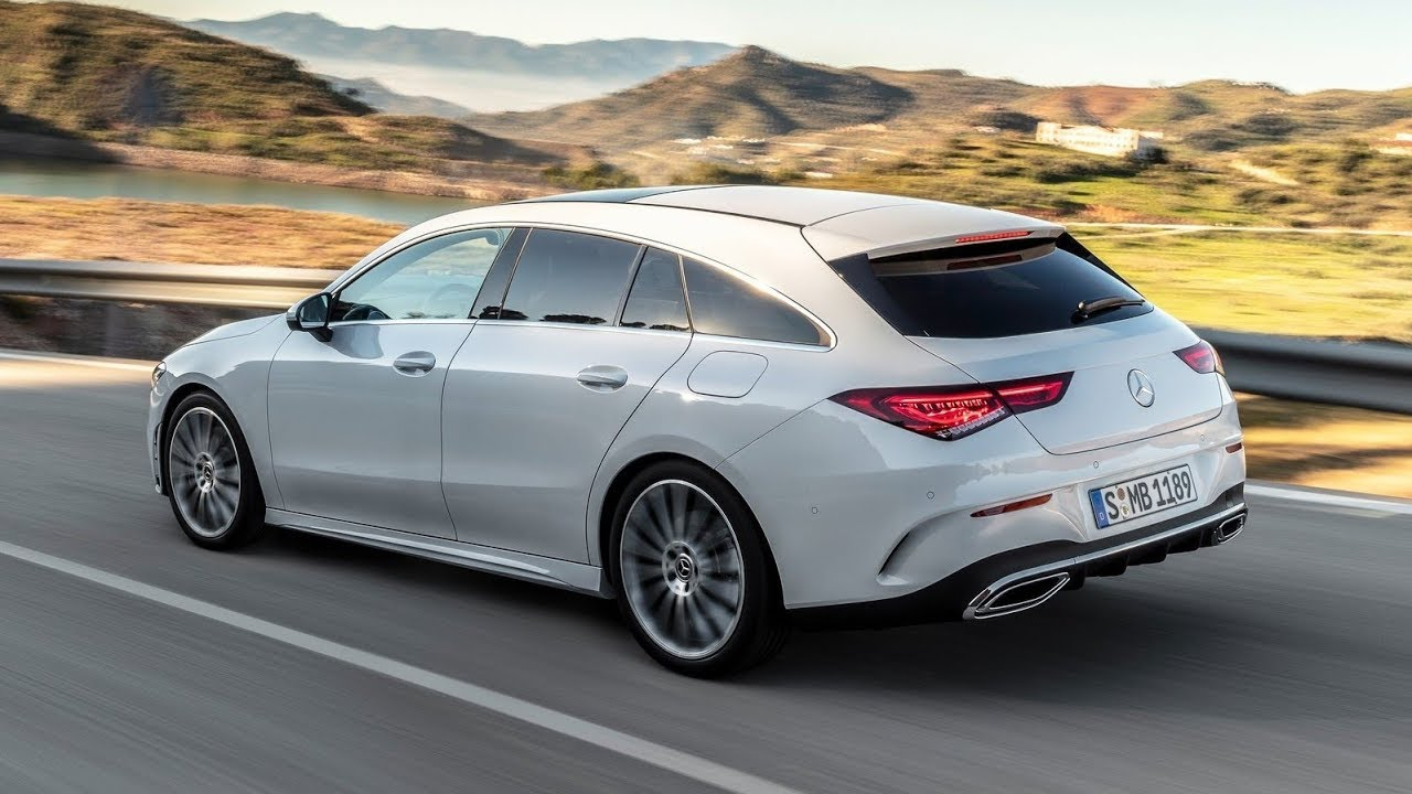 Best Wagons 2020.2020 Mercedes Benz Cla Shooting Brake Sexy Station Wagon Official Video