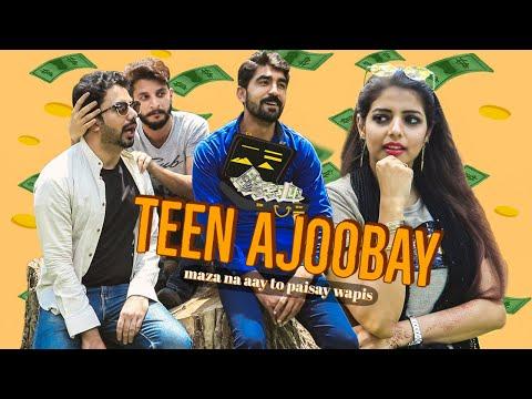 Teen Ajoobay | Dumb Blind Deaf | Kangla Production