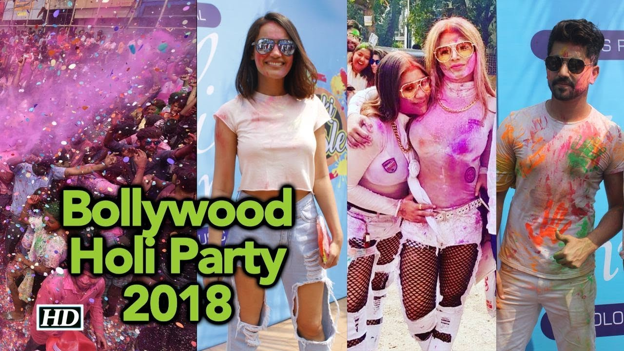 Download Full Video: Bollywood Holi Party 2018