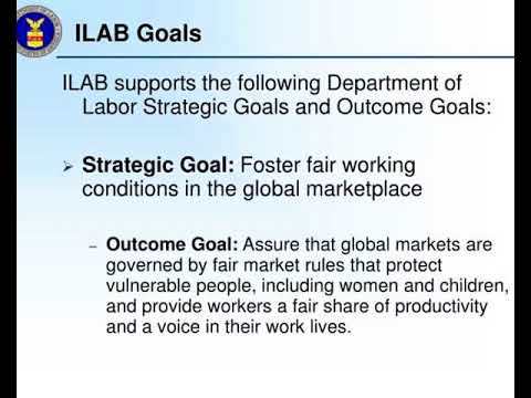 stakeholder consultation bureau of international labor affairs ilab department of labor dol