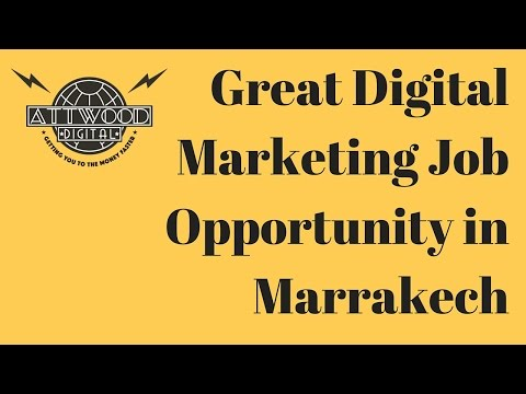 Digital Marketing Job - Great Opportunity!