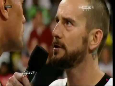 """Your arms are just too short to box with God."" - CM Punk (to The Rock)"