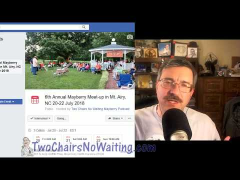 TCNW 466: Two Chairs Meet-up 2018 Report