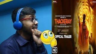 Thackeray Official Trailer Reaction & Discussion | Nawazuddin Siddiqui, Amrita Rao