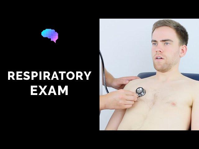 Respiratory Examination - OSCE Guide (New release)