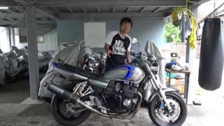 XJR400R3(2004)参考動画:どうしてXJRは空冷なのか?