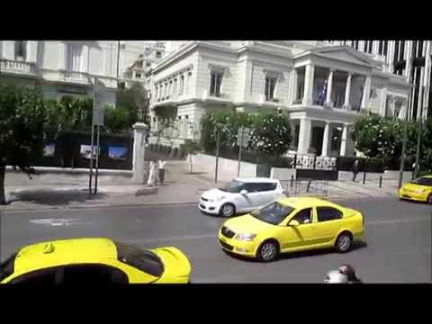 Drive Through -  Athens Greece