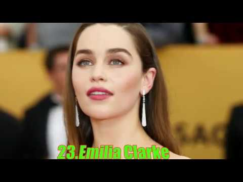 top 30 hot female actresses under 30 in 2016 youtube