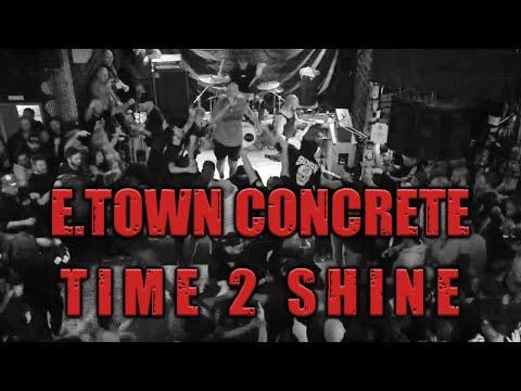 E.Town Concrete - Time 2 Shine (Don't panic, Essen, 20 October 2018)