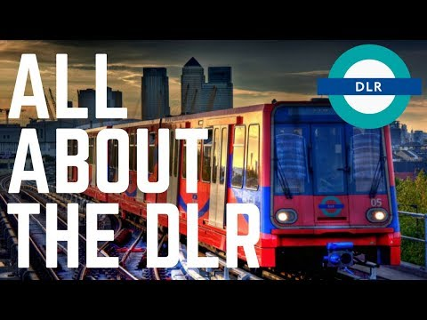 HOW TO GET AROUND LONDON | THE DLR | DOCKLANDS LIGHT RAILWAY | FIRST WORLD TRAVELLER