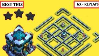 Th13 Secret Defensive War Base 2021 w/PROOF | Th13 BEST Trophy/Legend Base | MD Clash of Clans