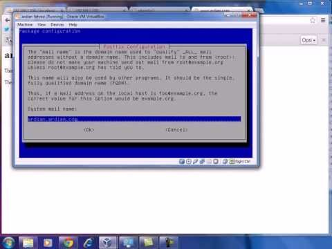 tutorial install debian,web server,dns,proxy,squirrelmail,ftp,ntpdate