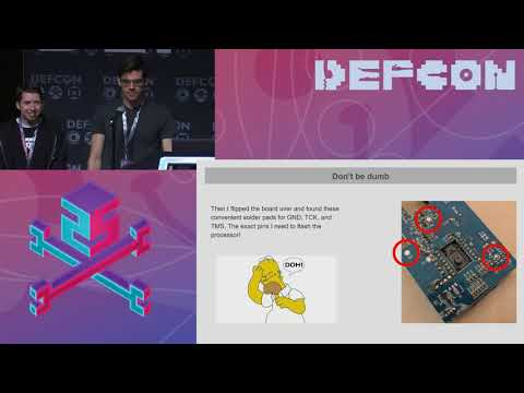 DEF CON 25 - Mark Williams, Rob Stanley - If You Give a Mouse a Microchip