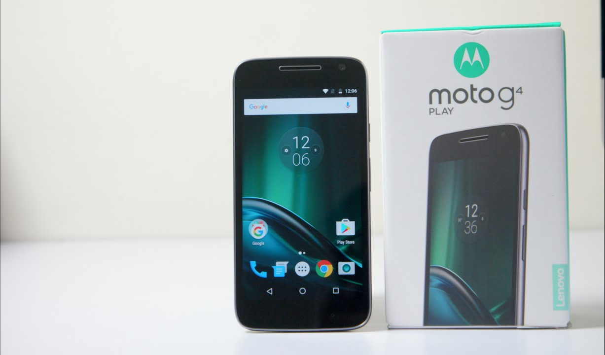 Moto G4 Play Unboxing & Hands On