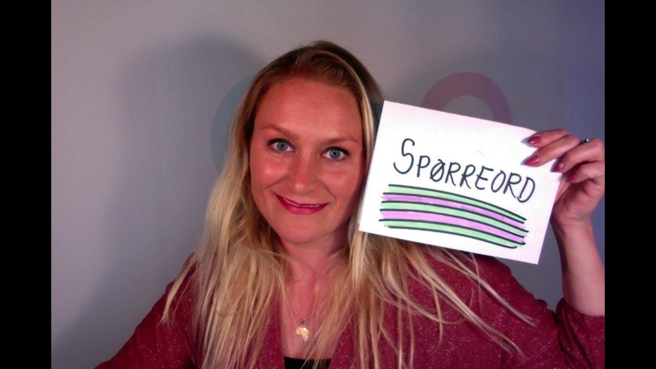 Video 327: SPØRREORD