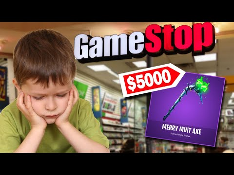 This Kid Stole $5000 Worth Of The *RARE* Minty Pickaxe... (Fortnite Battle Royale)