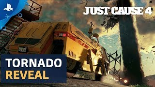 Just Cause 4 - Gamescom 2018: Tornado Gameplay Reveal | PS4