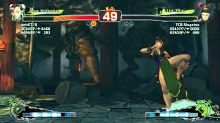 AE 2012- mrh6718 (Chun-Li) Vs TCB Mugetsu (Juri) XBL Ranked Match