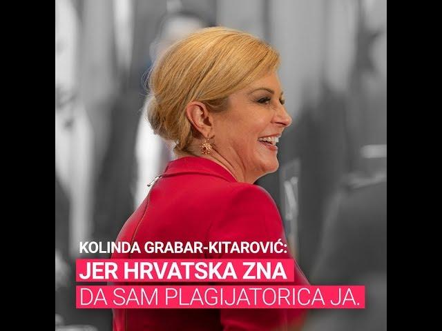 Kolinda Grabar-Kitarović - Kako sam prepisala program Dalije Orešković
