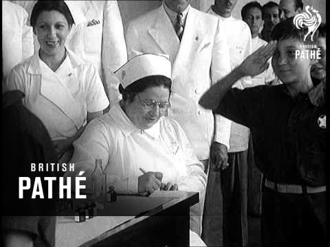 Cuba - Batista Puts The Accent On Youth Aka Cuban Dictator At Home Lner (1938)