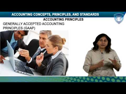 ACCOUNTING CONCEPTS, PRINCIPLES, AND STANDARDS