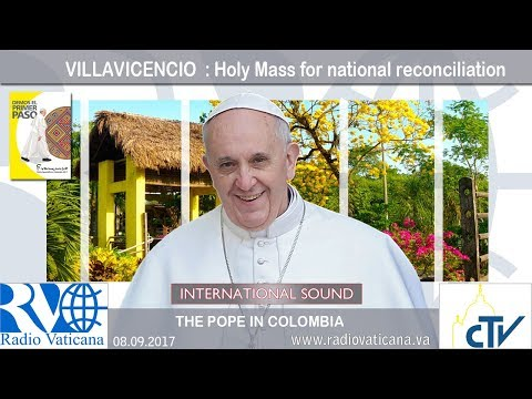 2017.09.08 Pope Francis in Colombia – National Prayer Meeting for National Reconciliation