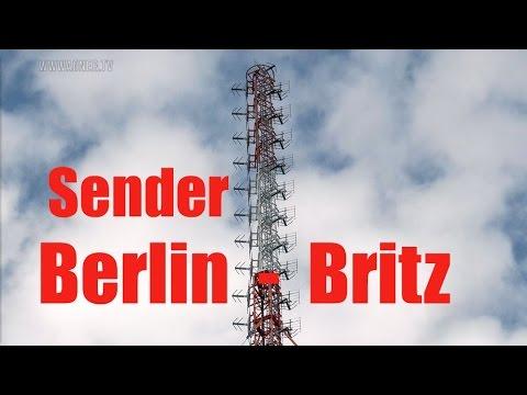 Der letzte Sendemast von Berlin-Britz