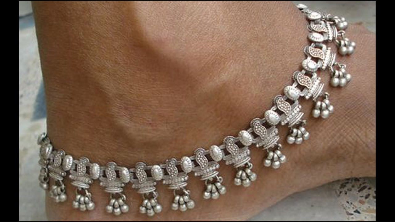 Exclusive Silver Payal Designs - YouTube