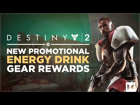 Destiny 2: New Energy Drink Promotional Offer With In-Game Gear Rewards