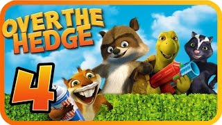 Over The Hedge Walkthrough Part 4 (PS2, GCN, XBOX, PC) Mission 6  [100% Objectives]
