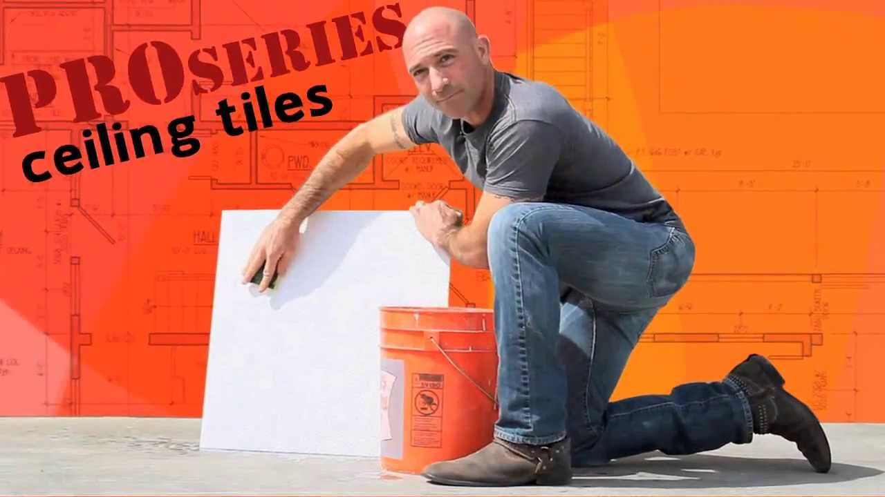 Proseries how to clean ceiling tiles youtube proseries how to clean ceiling tiles dailygadgetfo Gallery