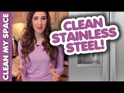 How to Clean Stainless Steel Appliances: Easy Ideas for Cleaning Your Kitchen (Clean My Space)
