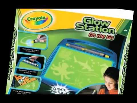 my demonstration of crayola glow station youtube