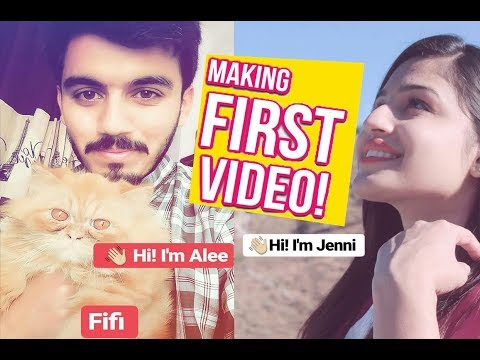 My first video ever !!! By Alee xD Jenni reactions
