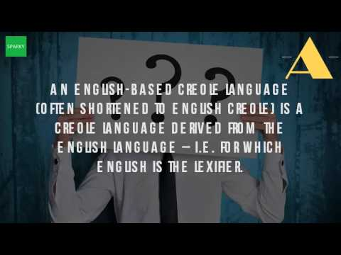 What Is English Creole Language?