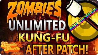 Shaolin shuffle glitches: all unlimited kung fu - styles/abilities - after patch! iw zombies