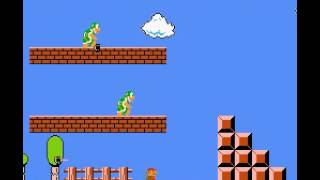 Super Mario Bros - Attempted Speedrun - User video