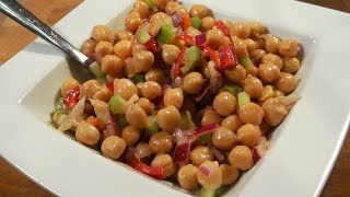 Healthy Chick Pea Salad