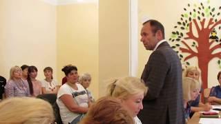 """В. Крыленко в школе № 29 (видео """"Корабелов.Инфо"""")"""