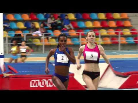New World Record 2000m Indoor Genzebe Dibaba 5.23.75