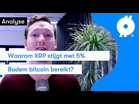 Ripple (XRP) Blijft Maar Gaan! Bitcoin Koers Analyse: Hebben We De Bodem Nu Bereikt? | BTC Direct
