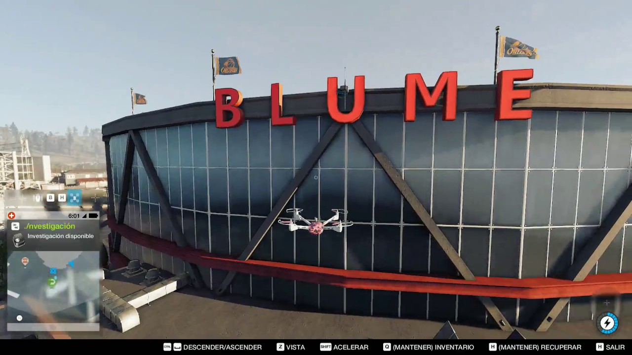 Watch Dogs Blume Arena
