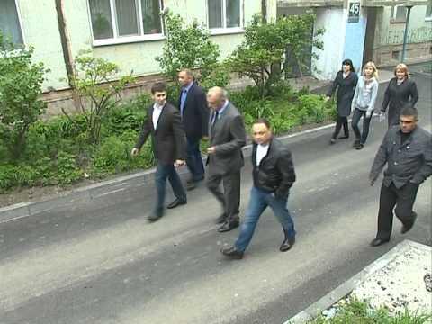 Игорь Пушкарёв проверил ремонт дорог