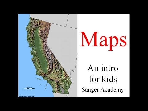 Maps - an intro for kids - Sanger Academy