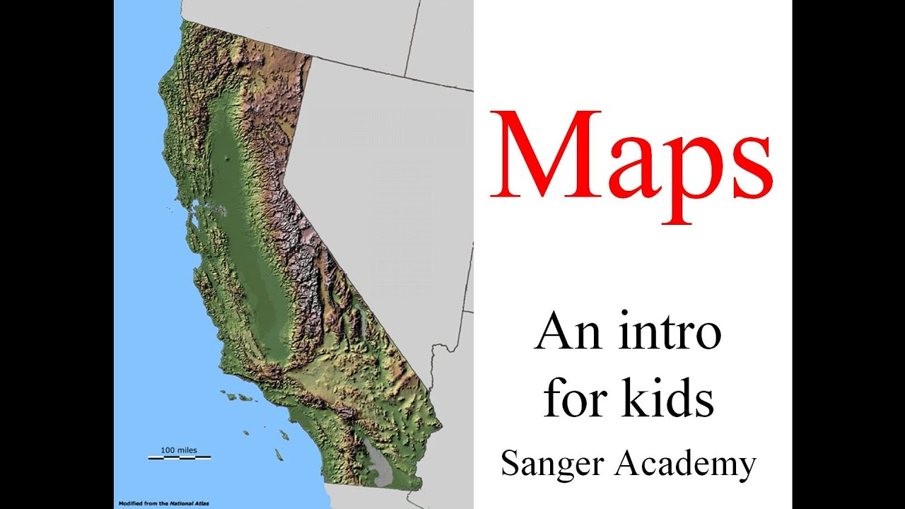 Maps  an intro for kids  Sanger Academy  YouTube