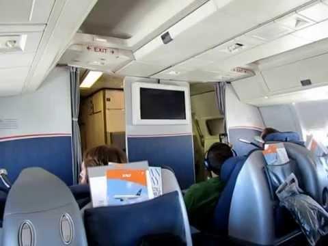 Final US Airways 767-200ER Flight - Captain's Farewell