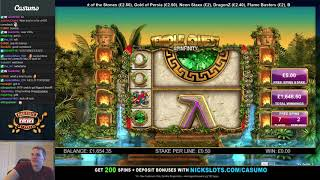 BIG WIN on Temple Quest Spinfinity Slot - £5 Bet *Balance Saver!!*