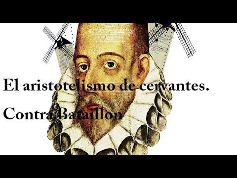 El aristotelismo de Cervantes. Contra Bataillon - Pedro Insua